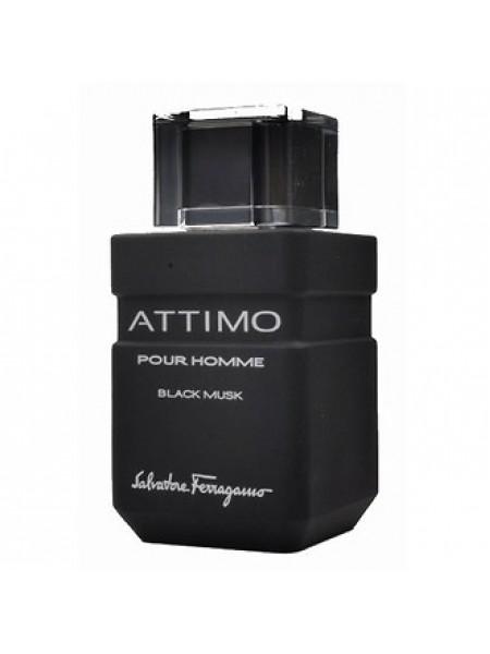 Salvatore Ferragamo Attimo Black Musk туалетная вода 100 мл