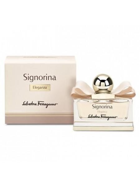 Salvatore Ferragamo Signorina Eleganza Подарочный набор (парфюмированная вода 50 мл + лосьон для тела 100 мл)