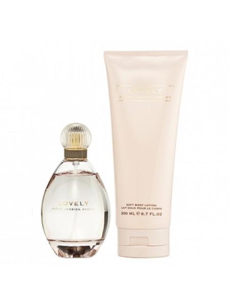 Sarah Jessica Parker Lovely Подарочный набор (парфюмированная вода 50 мл + лосьон для тела 200 мл)