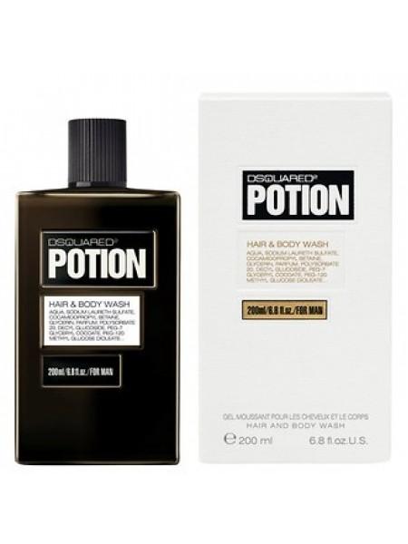 Dsquared2 Potion Pour Homme шампунь-гель для душа 200 мл