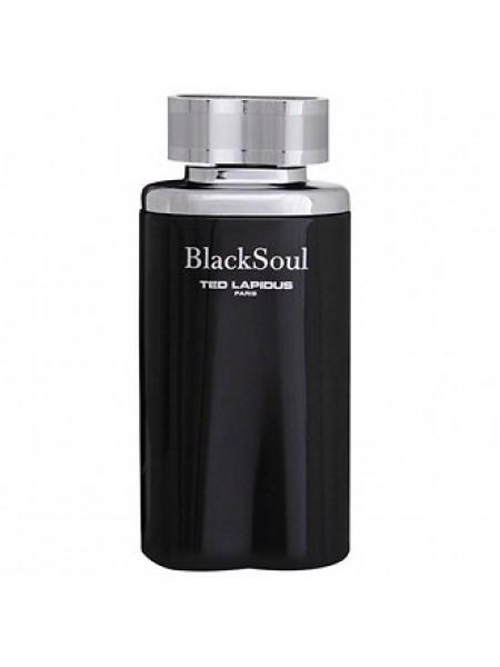 Ted Lapidus Black Soul тестер (туалетная вода) 100 мл