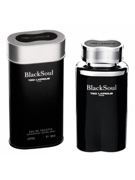 Ted Lapidus Black Soul туалетная вода 100 мл