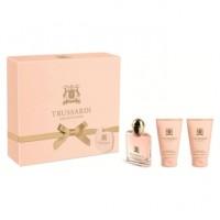 Trussardi Delicate Rose Подарочный набор (туалетная вода 30 мл + лосьон для тела 2x30 мл)