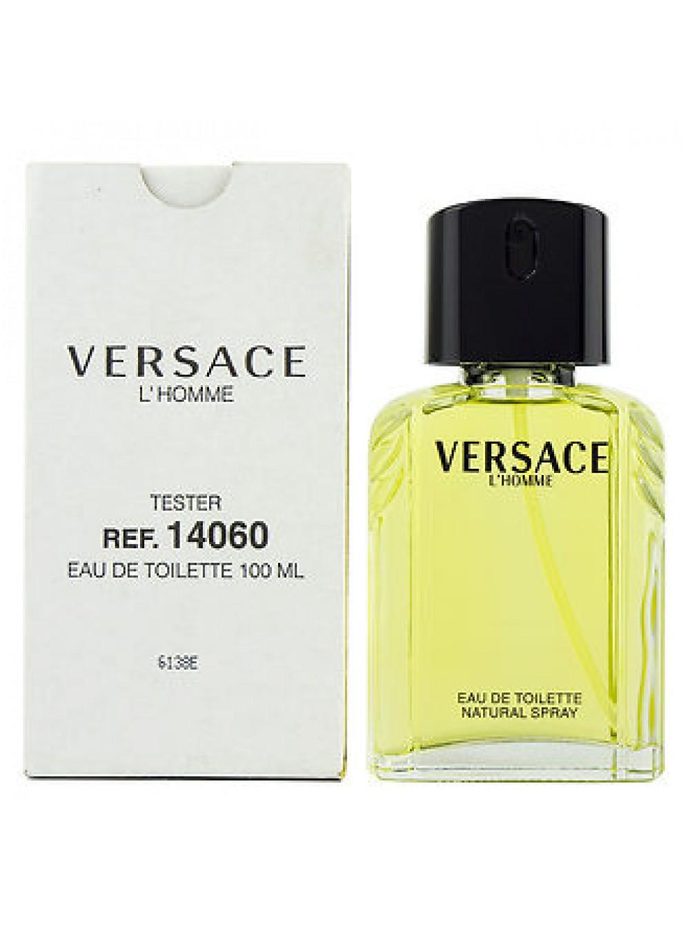 купить Versace Lhomme тестер с крышечкой туалетная вода 100 мл в