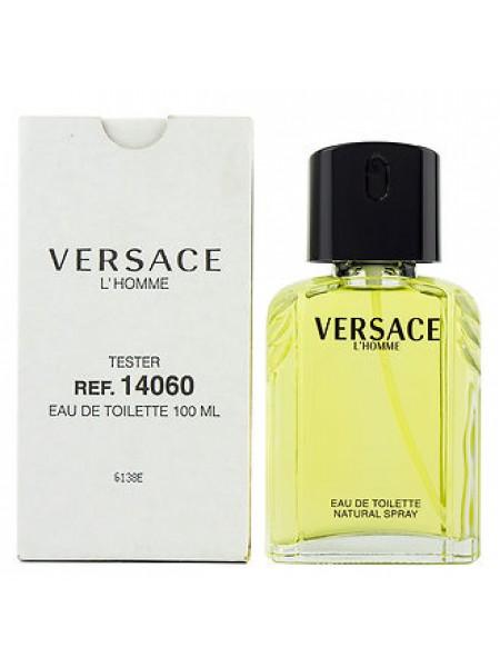 Versace L'Homme тестер с крышечкой (туалетная вода) 100 мл