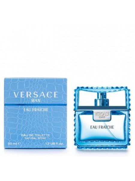 Versace Man Eau Fraiche туалетная вода 50 мл