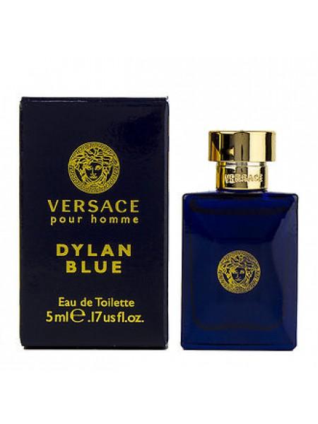 Versace Pour Homme Dylan Blue миниатюра 5 мл