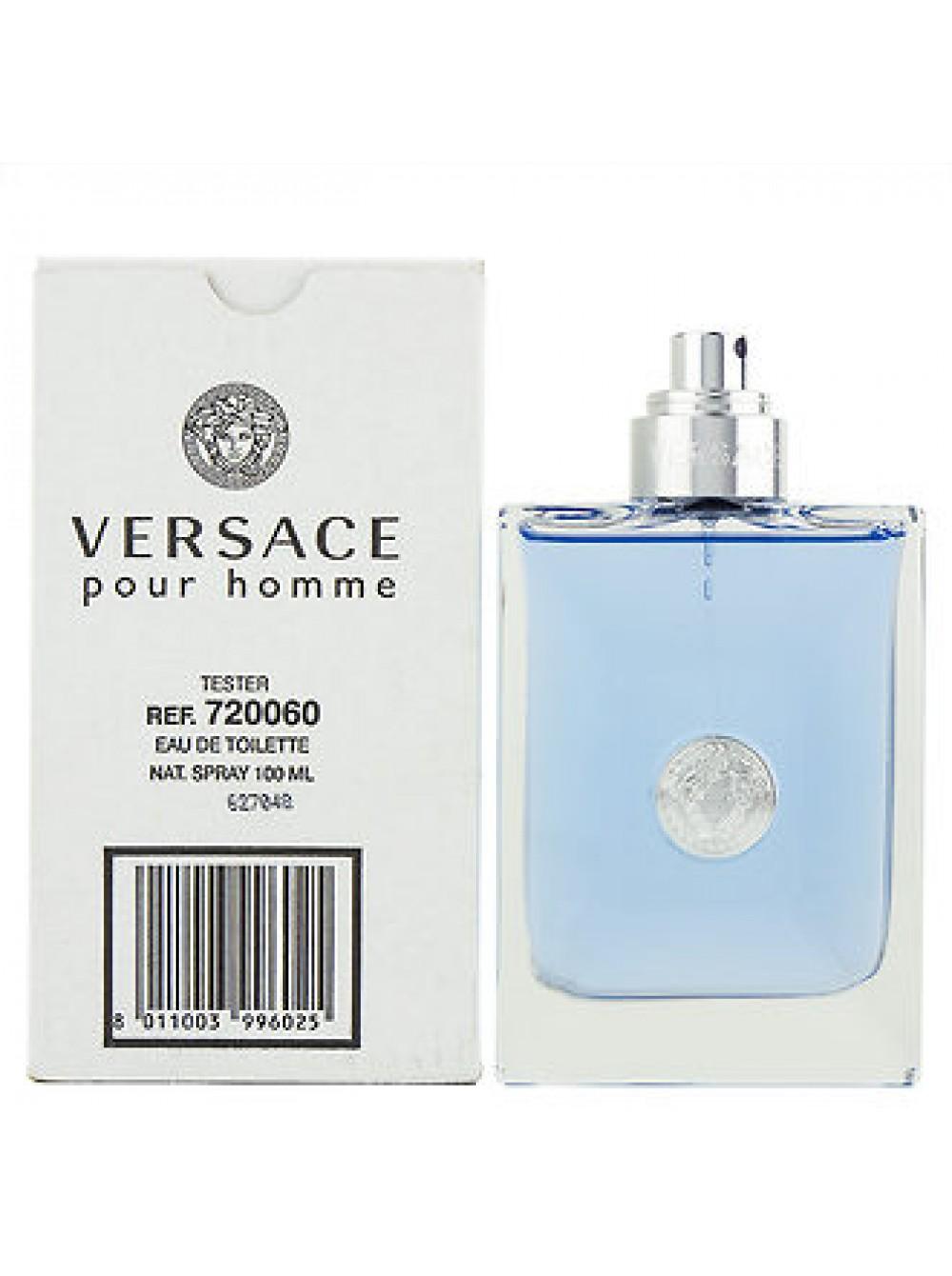 купить Versace Pour Homme тестер без крышечки туалетная вода 100