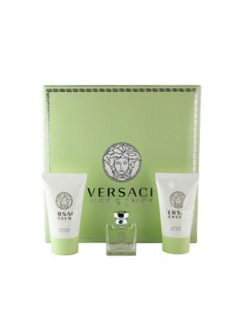 Versace Versense Подарочный набор (миниатюра 5 мл + лосьон для тела 25 мл + гель для душа 25 мл)