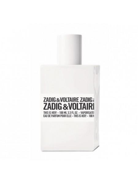 Zadig & Voltaire This is Her парфюмированная вода 100 мл