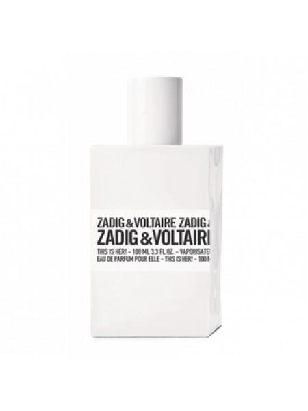 Zadig & Voltaire This is Her парфюмированная вода 50 мл