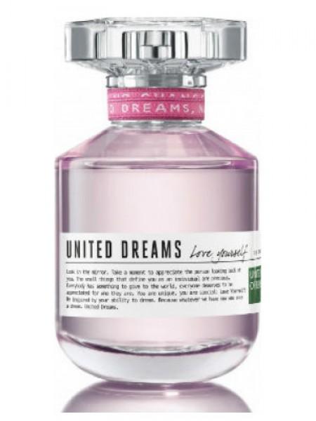 Benetton United Dreams Love Yourself тестер (туалетная вода) 80 мл