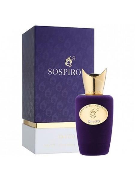 Sospiro Perfumes Duetto парфюмированная вода 100 мл