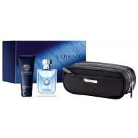 Versace Pour Homme Подарочный набор (туалетная вода 100 мл + гель для душа 100 мл + сумка)