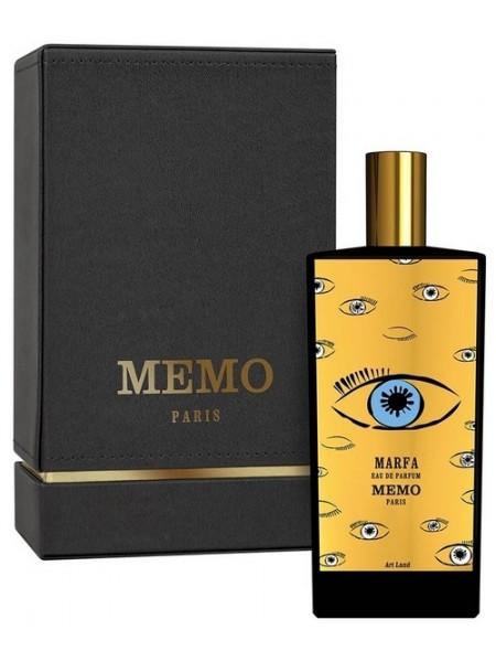 Memo Marfa парфюмированная вода 75 мл
