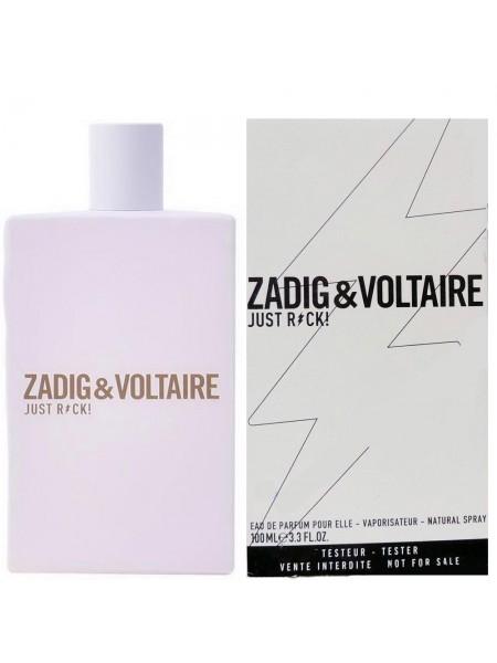 Zadig & Voltaire Just Rock! for Her тестер (парфюмированная вода) 100 мл